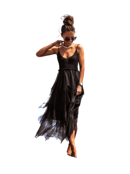 COCOMORE Sukienka LOLA czarna