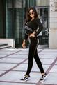 COCOMORE Spodnie extra połysk czarne (3)