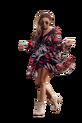 COCOMORE Sukienka FLUO czerwona (1)