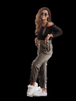 COCOMORE Spodnie bojówki NEW khaki