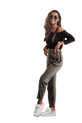 COCOMORE Spodnie bojówki LABIO khaki (1)