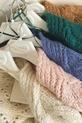COCOMORE Sweter ażurowy różowy pudrowy (4)