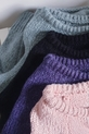 COCOMORE Sweter pudrowy róż z rulonem (4)