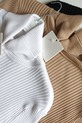 COCOMORE Sweter Golf IDEALNY biały prążek (8)