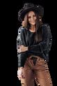 Cocomore Sweter z włosem NEW czarny (1)