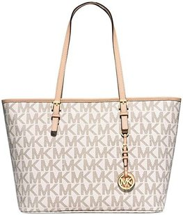 MICHAEL KORS TORBA JET SET TRAVEL MEDIUM VANILLA