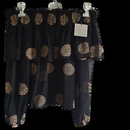 COCOMORE Bluzka hiszpanka czarna haftowane mandale
