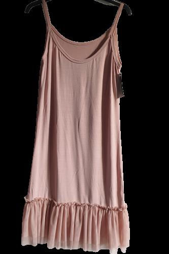Made in Italy sukienko - halka pudrowa (1)