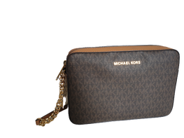 MICHAEL KORS torebka Jet Set Crossbody Brown