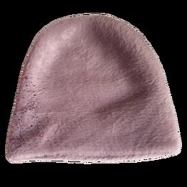 Made in Italy czapka typu alpaka gruba wygodna violet