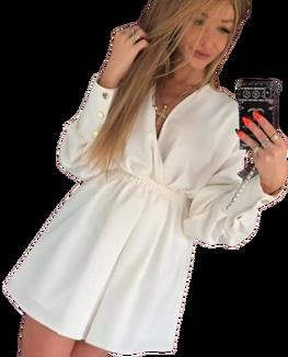 Sukienka Laura ecru by Mielczarkowski