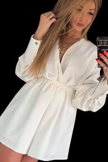 Sukienka Laura ecru by Mielczarkowski (1)