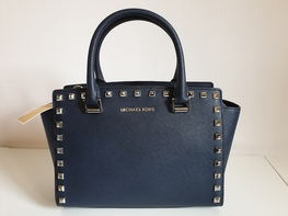 MICHAEL KORS torebka SELMA MEDIUM Navy