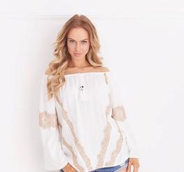 Cocomore bluzka biała Fuerta