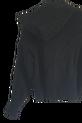 LA MANUEL sweterek z kapturem LOGO SOUR SWEET czarny (1)