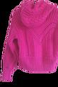 LA MANUEL sweterek z kapturem LOGO SOUR SWEET czarny (6)