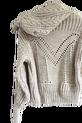 LA MANUEL sweterek z kapturem LOGO SOUR SWEET czarny (8)