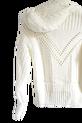 LA MANUEL sweterek z kapturem LOGO SOUR SWEET kremowy (5)