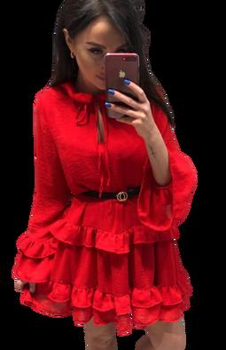 Sukienka Spanish czerwona Lola Fashion