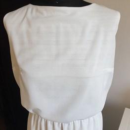 by Agnes & Paul Sukienka biała z melanżem