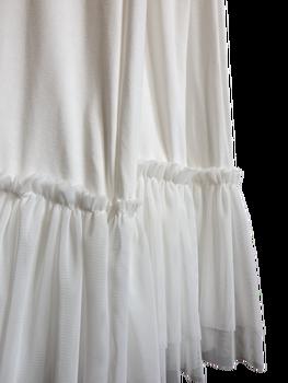 Made in Italy sukienko - halka ecru