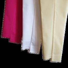 Sigma for you Spodnie cygaretki długie fuschia