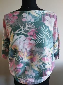 Ardi bluzka sweterkowa kolorowe kwiaty
