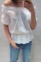 Simplicity bluzka biała ażurowa hiszpanka (4)