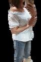 Simplicity bluzka biała ażurowa hiszpanka (1)