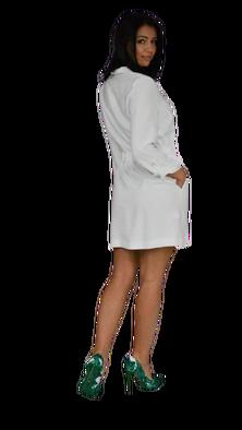 RESZKA sukienka Mela biała