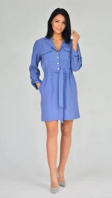 RESZKA sukienka Mela blue jeans