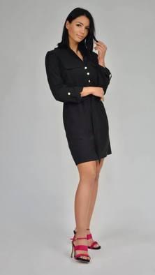 RESZKA sukienka Mela czarna