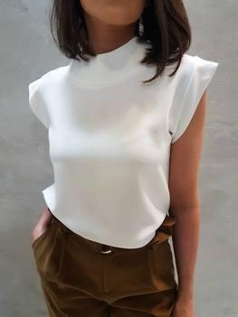 Simplicity Bluzka elegancka ecru