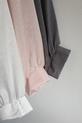 Bluzka oversize różowa Lola Fashion (3)