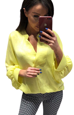 Bluzka oversize limone Lola Fashion