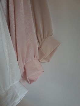 Bluzka oversize beż Lola Fashion