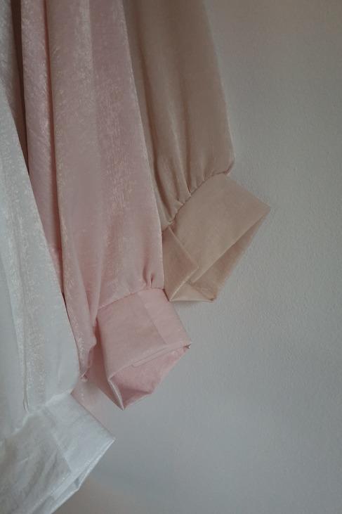 Bluzka oversize beż Lola Fashion (1)