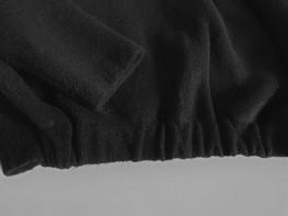 Sweter bomberka czarna COCOMORE