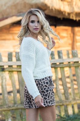Fobya sweter krótki gruby