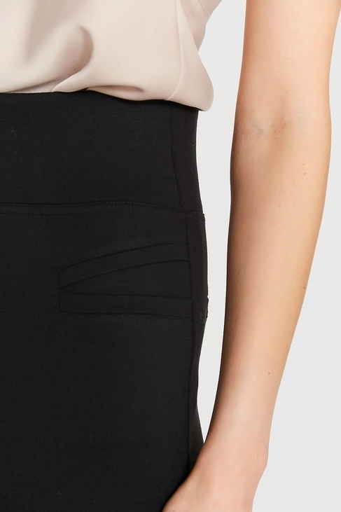 Blue Shadow Spodnie czarne Milena (1)