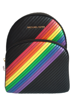 MICHAEL KORS BACKPACK BLACK RAINBOW