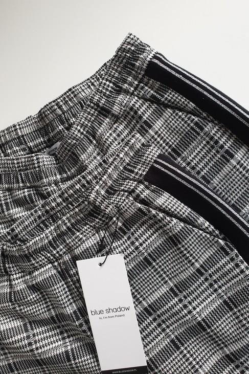 Blue Shadow spodnie LIZZIE kratka biała czarna (1)