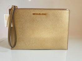 MICHAEL KORS kosmetyczka GOLD