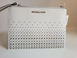 MICHAEL KORS kosmetyczka/ kopertówka OPTIC WHITE