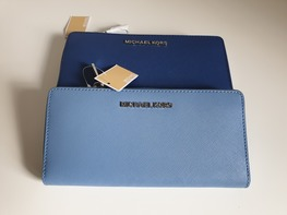 MICHAEL KORS portfel FRENCH BLUE
