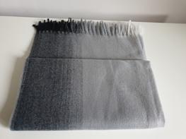 Made in Italy Szalik Premium dwubarwny gray /gris