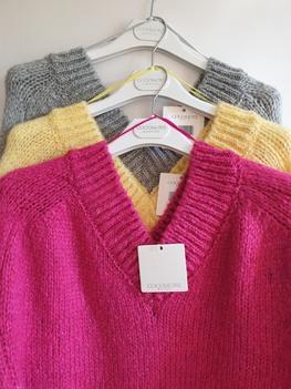Sweter alpaka Fluffy fuksja