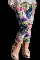 Spodnie cygaretki wzór kwiaty Lola Fashion (1)