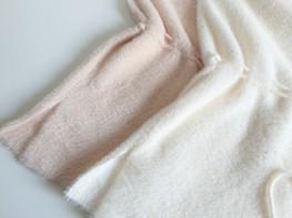 Made in Italy alpaka sweter tunika ecru