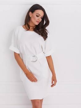 COCOMOORE Sukienka elegancka jasny szary